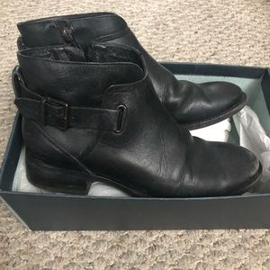 UGG Leather Boots Black Size 6